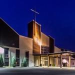 Lakemount Worship Centre, main entrance
