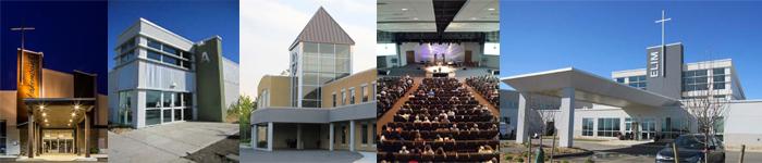Modern Church Architecture   Parker Seminoff Architects