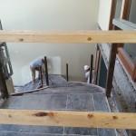 Stairway demolition