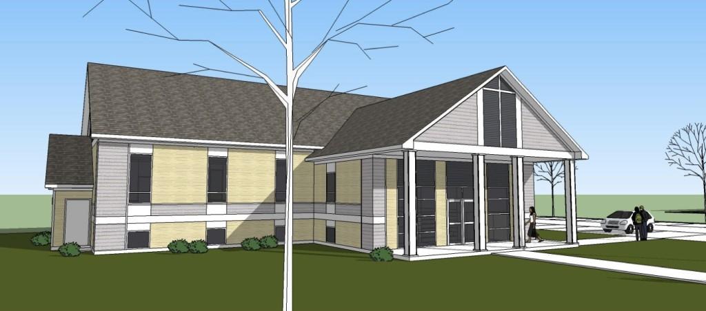 Morinville Baptist Church design model